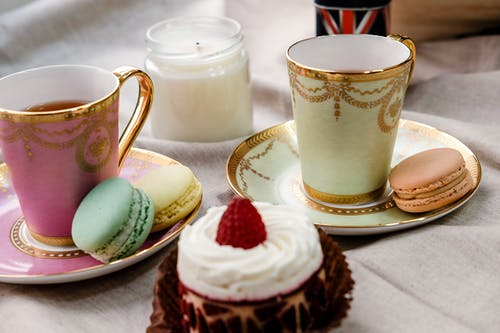 Foto stok gratis cake, kafein, lezat, macarons