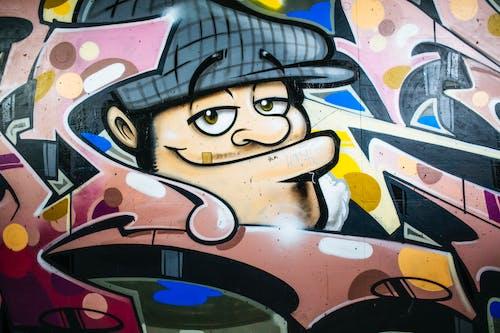 人為破壞, 創造力, 塗鴉, 壁畫 的 免费素材图片