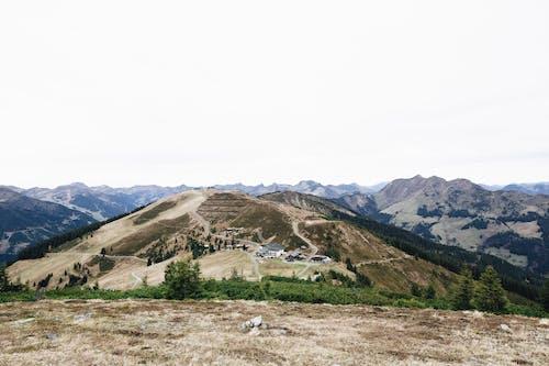 Free stock photo of hiking, mountain range, peak