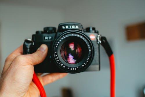 Imagine de stoc gratuită din aparat de fotografiat, aparat foto analog, apertură, electronice