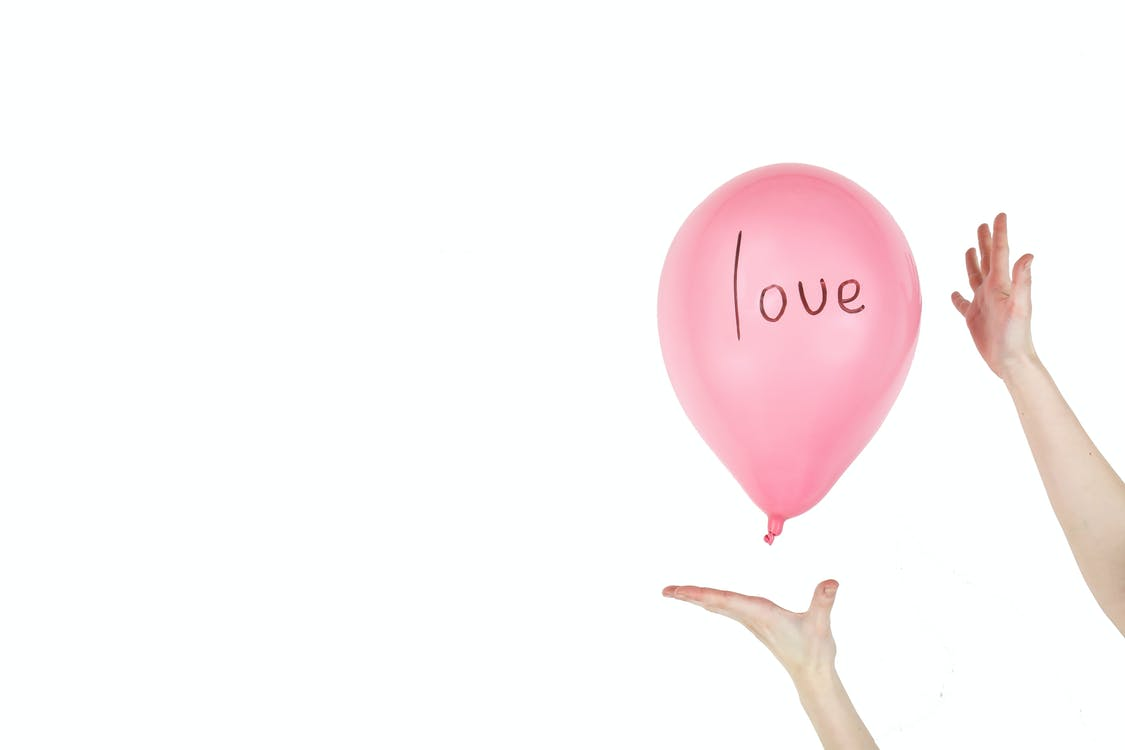 Balloon With White Background