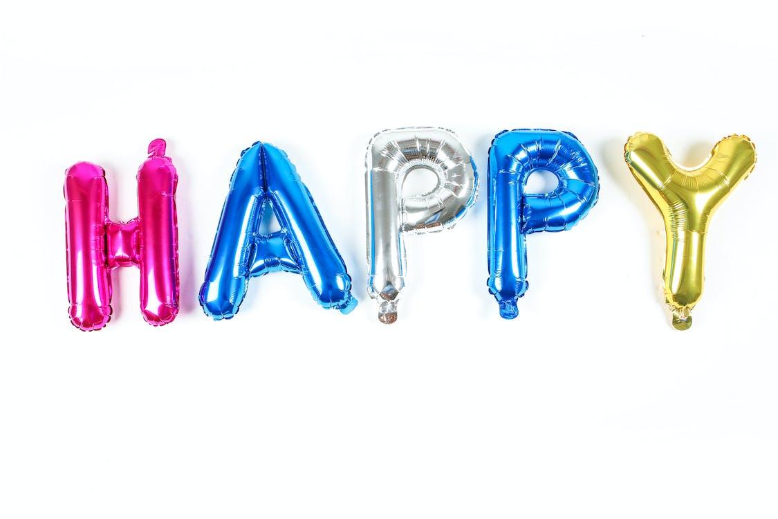 Colorful Metallic Balloons