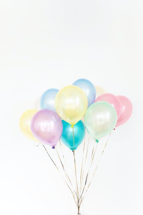 Foto profissional grátis de aniversário, balões, bexigas, cheio de cor