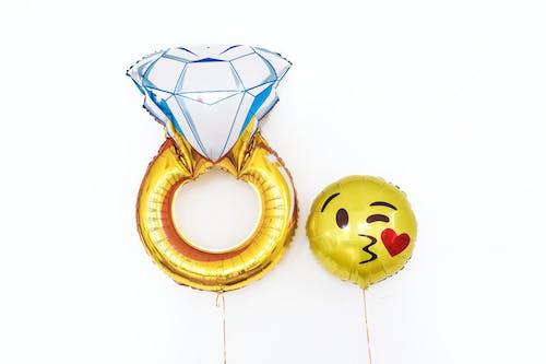 熱氣球, 笑臉, 裝飾 的 免費圖庫相片