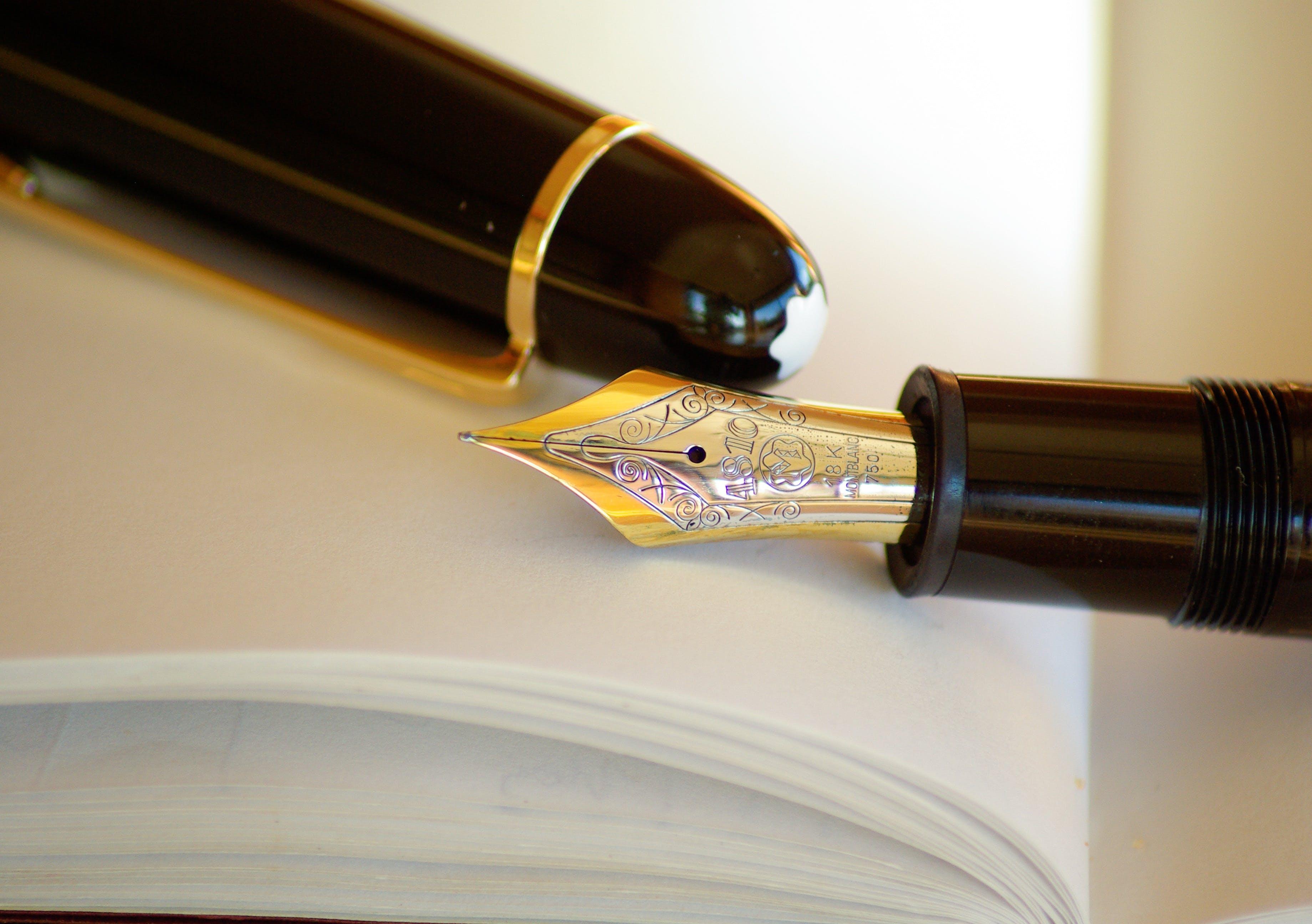 インク, ゴールド, デコレーション, ペンの無料の写真素材