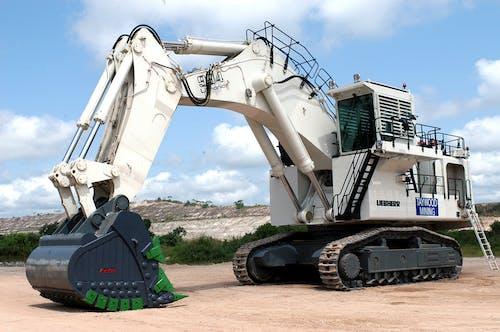 White Heavy Equipment