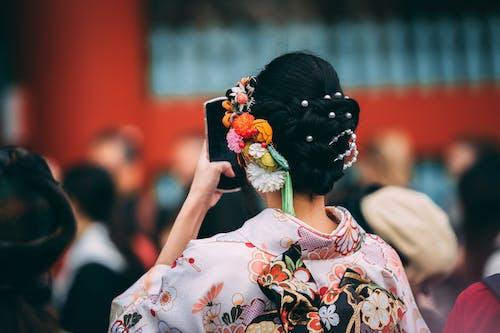 Δωρεάν στοκ φωτογραφιών με άνθρωπος, άτομο, γκέισα, γυναίκα