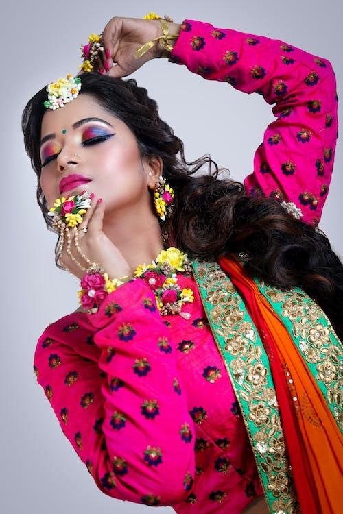 Woman In Traditional Wear
