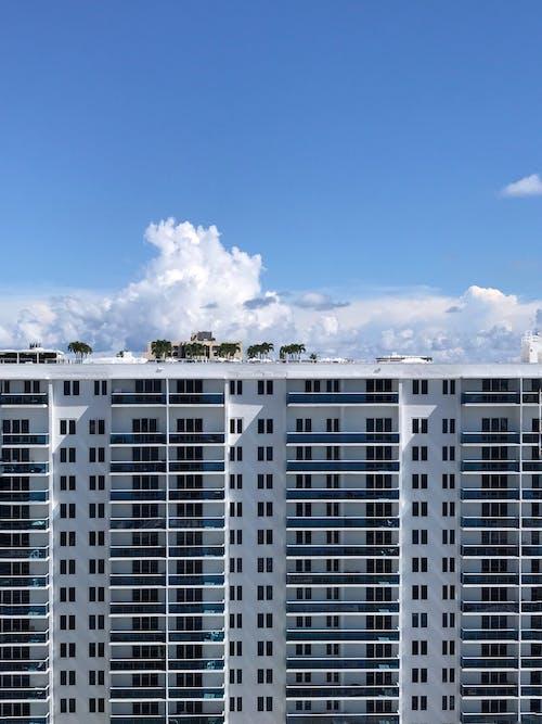 Multistory Concrete Building Under Blue Sky