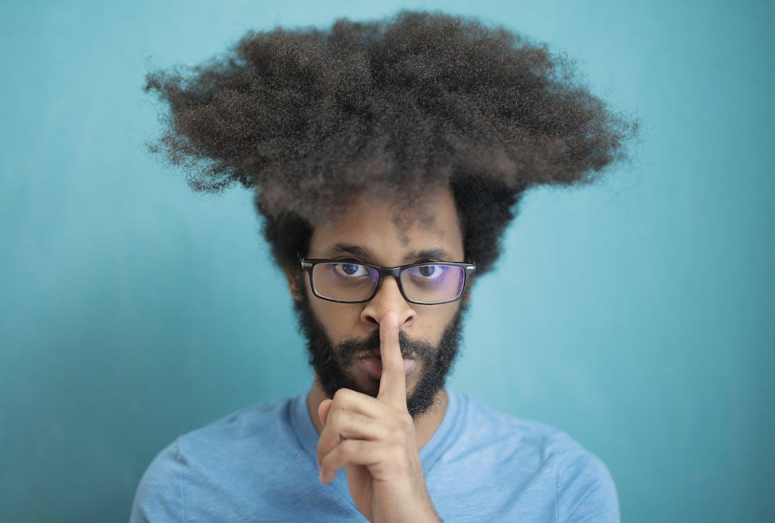 Immagine gratuita di acconciatura, barba, capelli afro