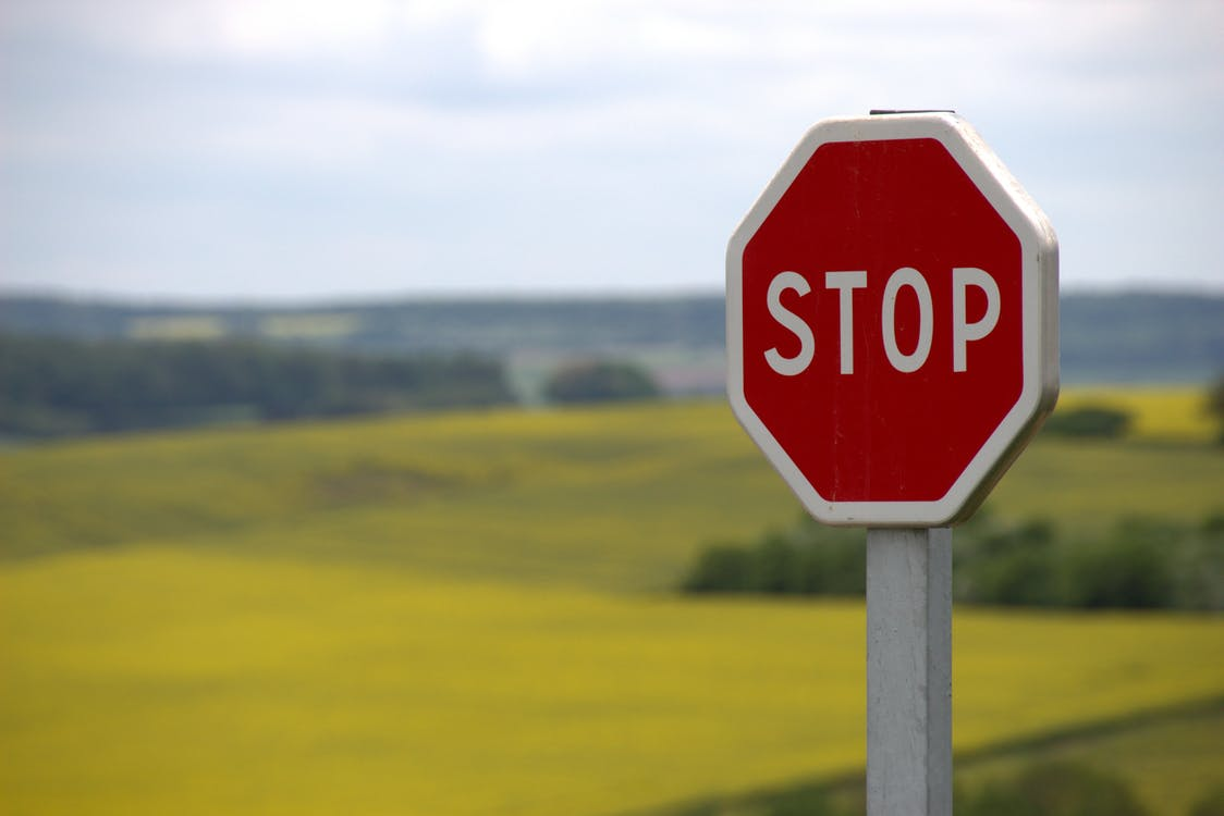 Red Stop Sign Pexels