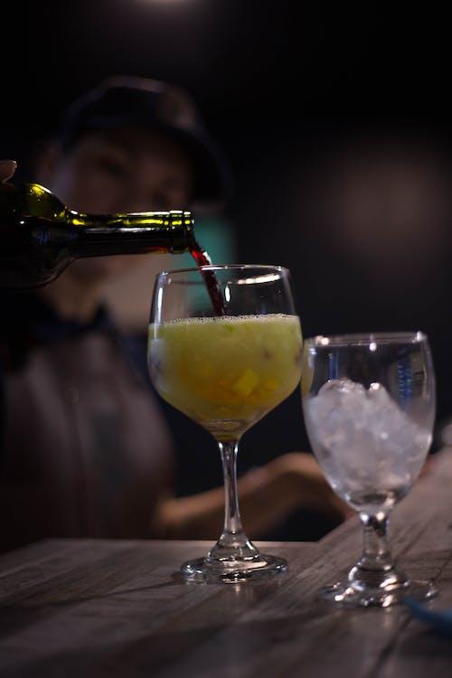 Free stock photo of bartender, sangria, wine