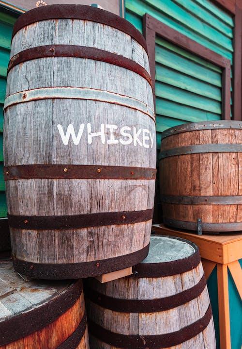 Kostenloses Stock Foto zu alchohol, altern, bunt, essenslager