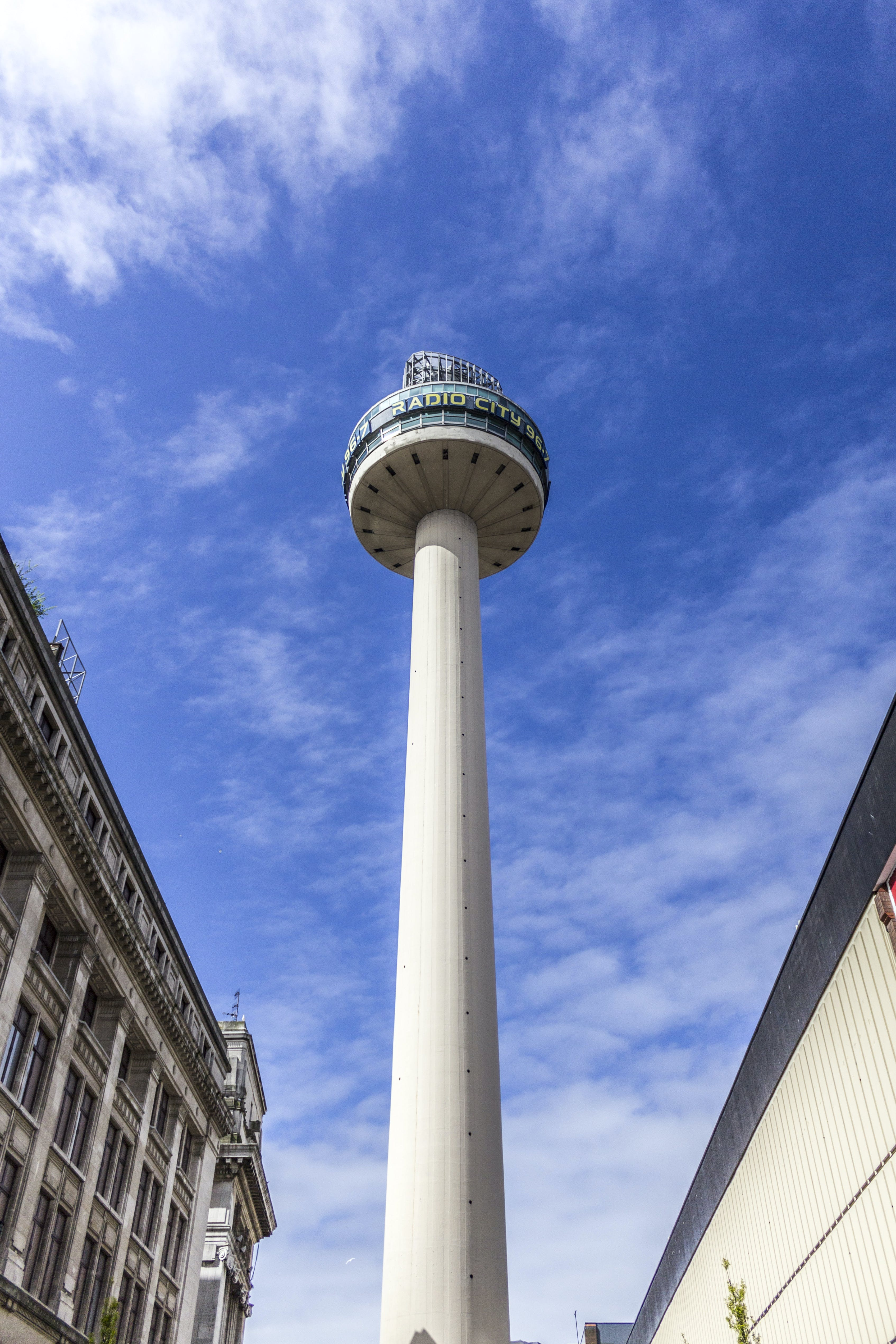 Free stock photo of Liverpool, observation tower, radio city, St John's Tower