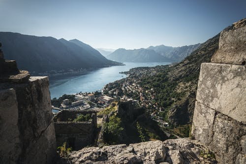 Free stock photo of castle, city, kotor, landscape