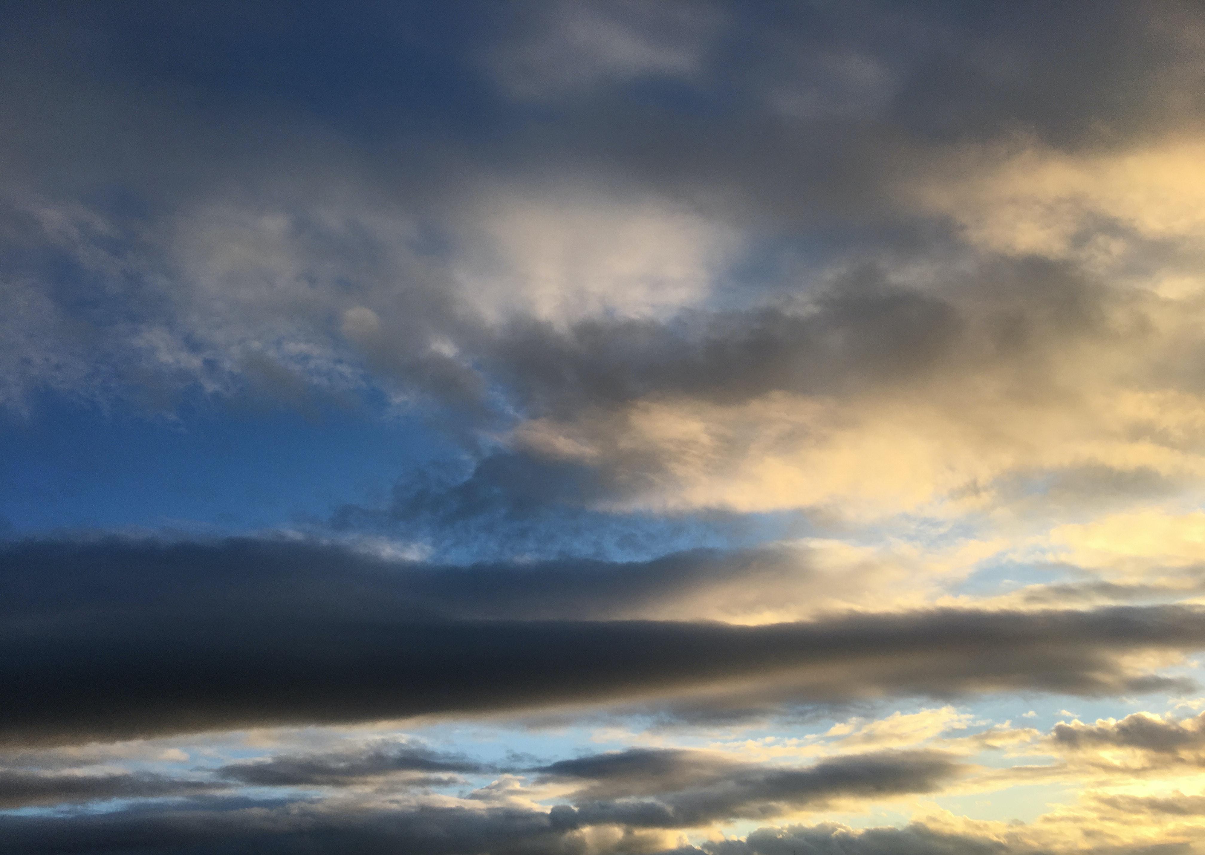Foto de stock gratuita sobre cielo, cielo tormentoso, nubes