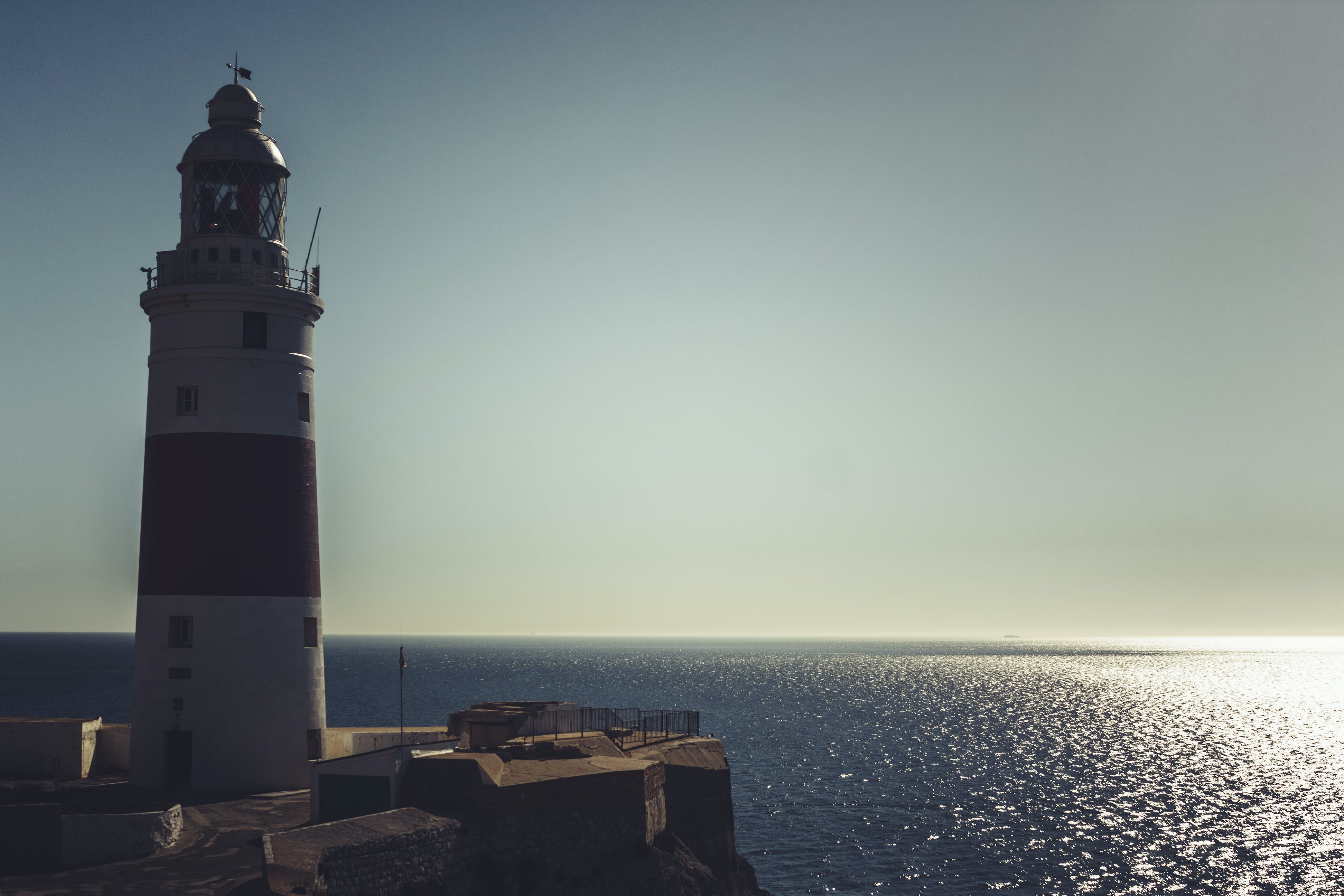 Free stock photo of landscape, lighthouse, ocean, port