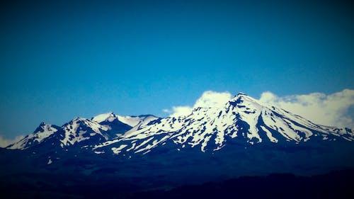 Photos gratuites de blanc, bleu, ciel, montagne
