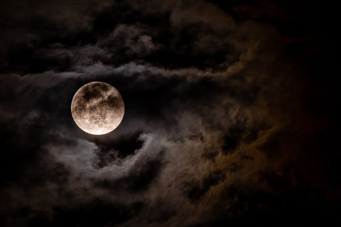 Photo Of A Full Moon