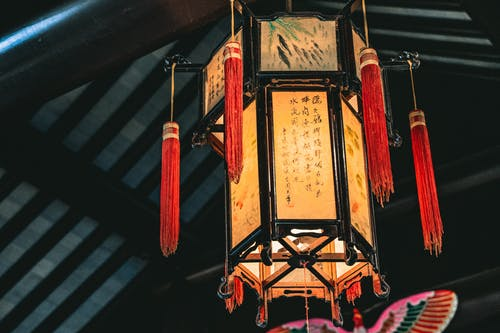 Free stock photo of Chinese lantern, lantern, red, warm