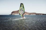 sea, beach, surfer