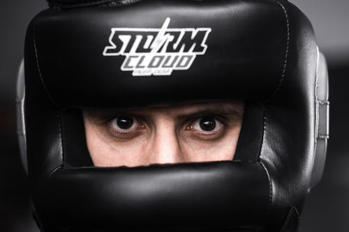 Free stock photo of boxing, eyes, sport, staring