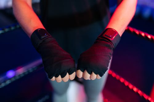 Boxer Wearing Performance Tracker