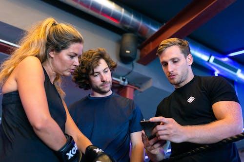 Kostenloses Stock Foto zu app, athlet, aufführung
