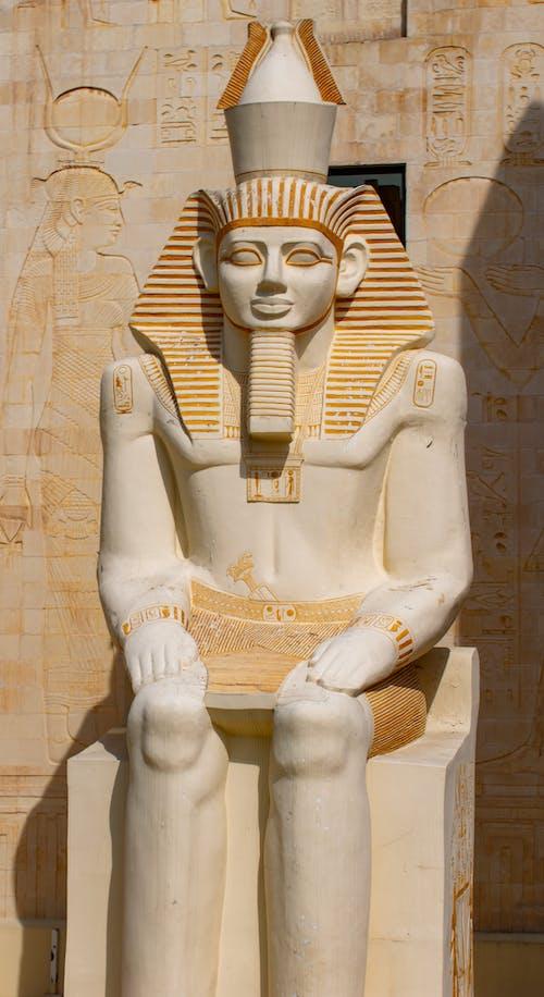 White Ceramic Statue of Man