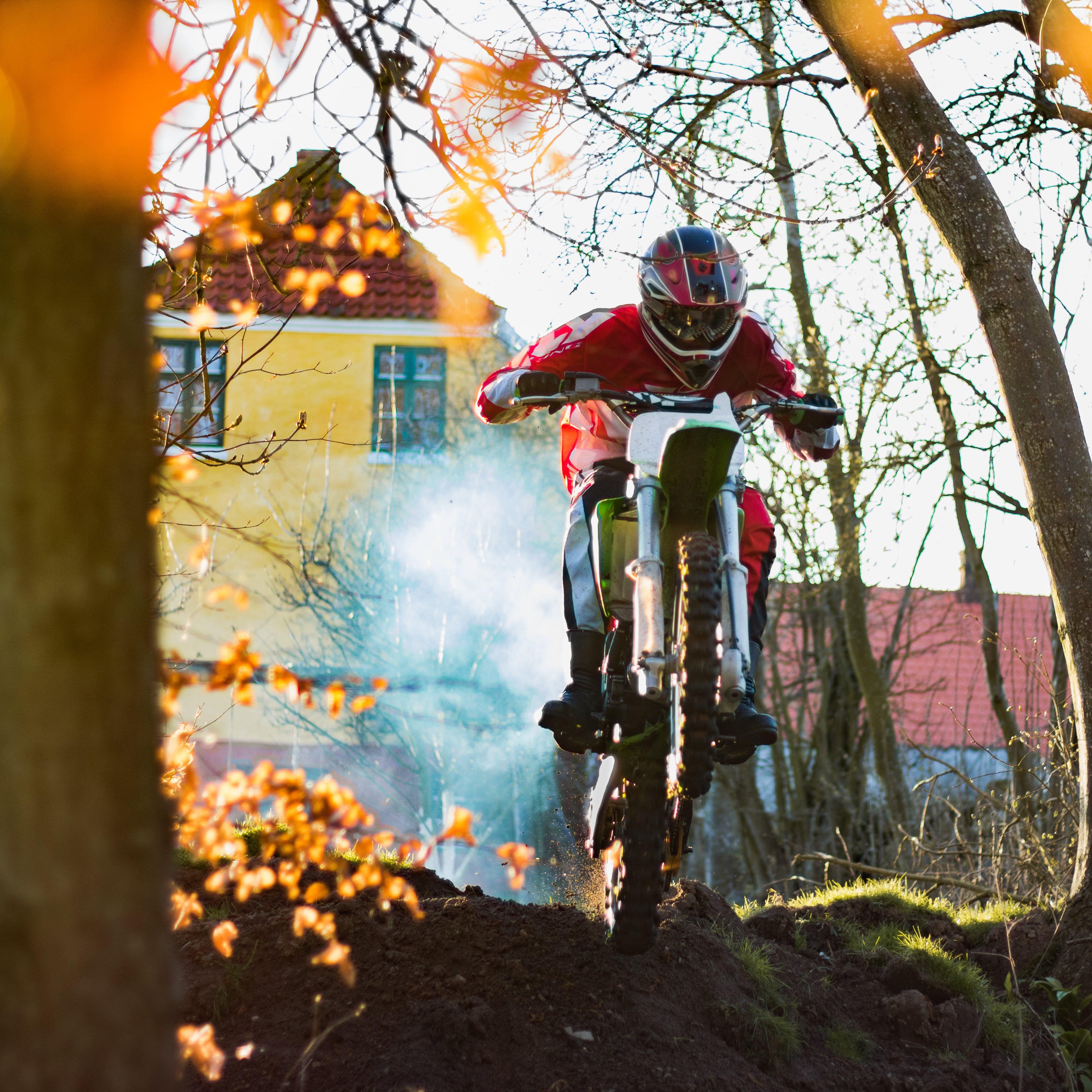 Free stock photo of bike in air, cross, dirt, dirt bike