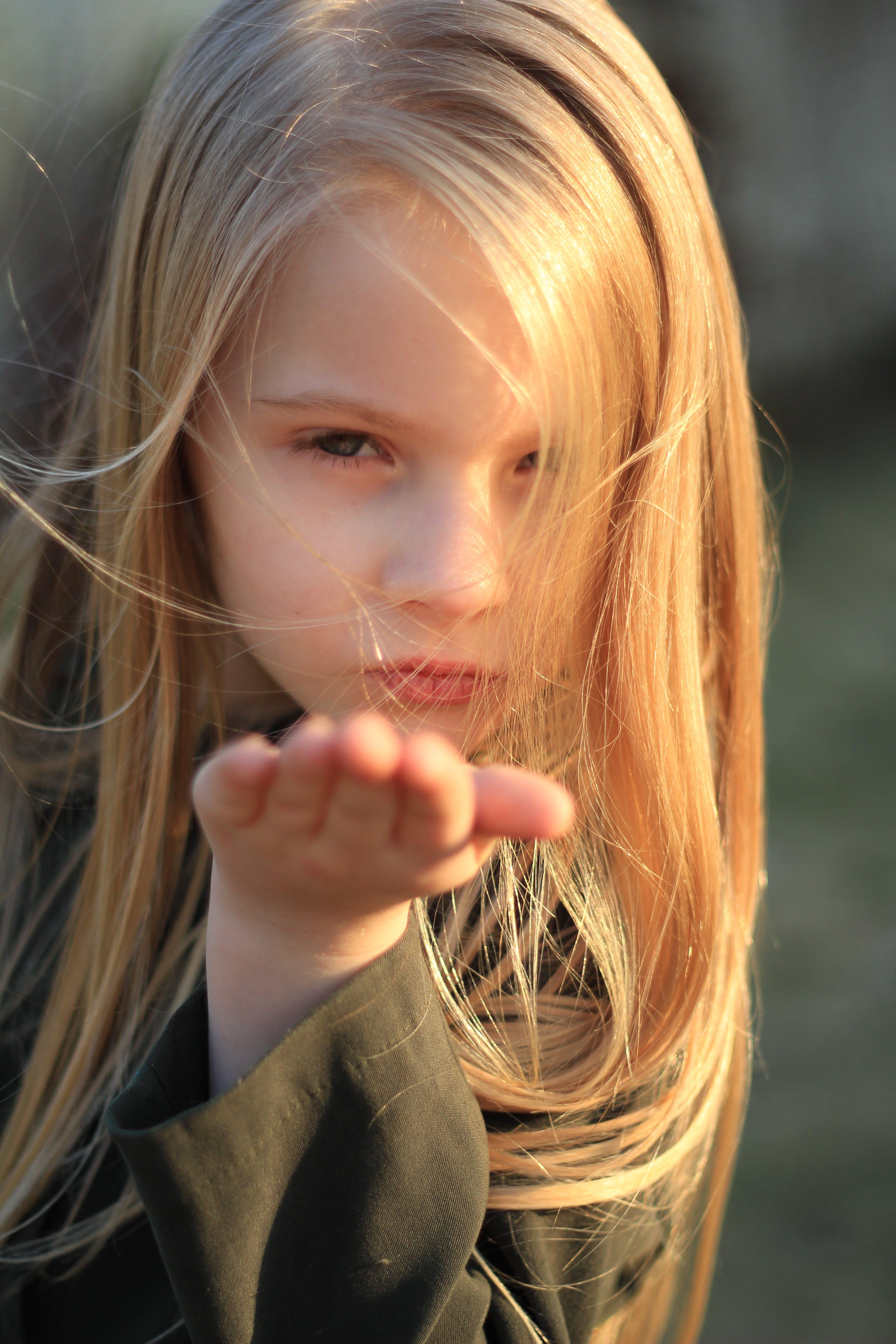Free stock photo of beautiful face, blonde, child, children