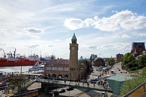Free stock photo of Fischmarkt, habor, Hafen, hamburg