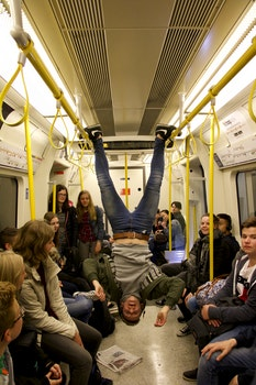 Free stock photo of people, funny, metro, subway