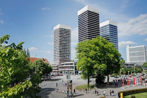 Free stock photo of hamburg, Mundsburg tower