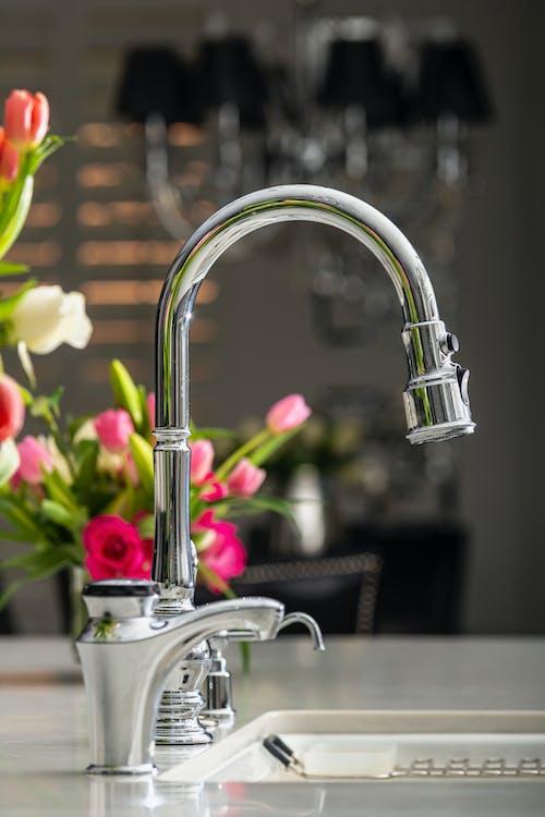 Silver Faucet