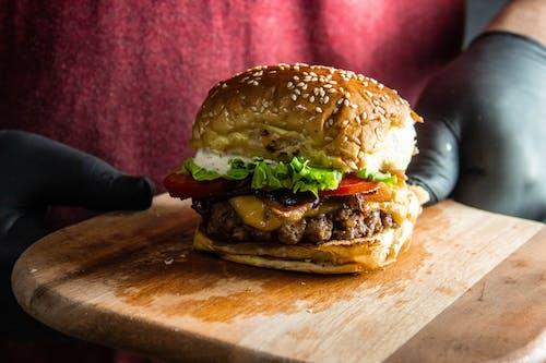 Gratis arkivbilde med brød, delikat, hamburger