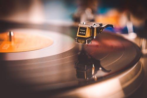 Ingyenes stockfotó audio, bakelit, fonográffelvétel, közelkép témában