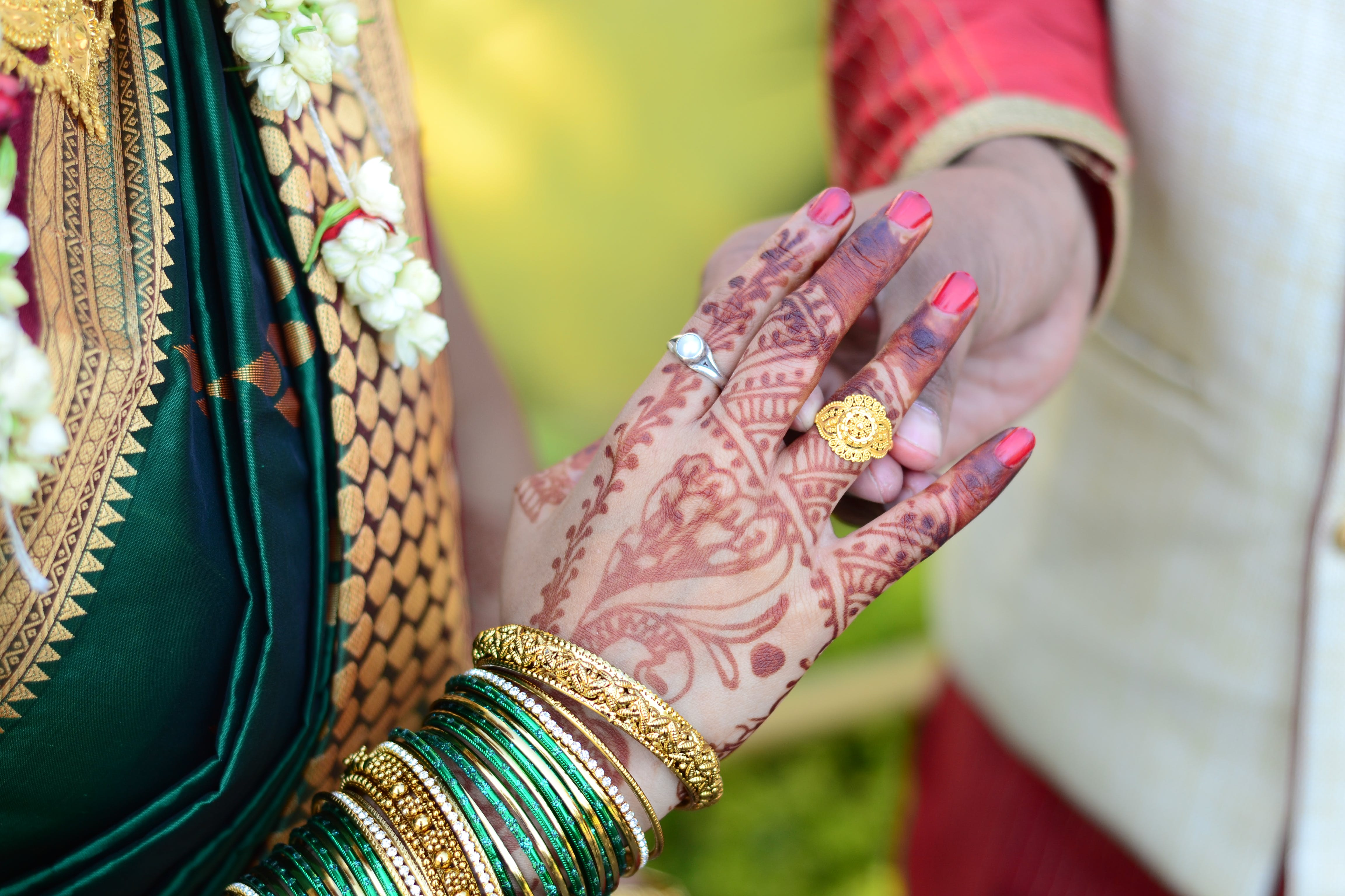 Free stock photo of traditional, wedding, ring, tradition