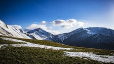 cold, glacier, landscape