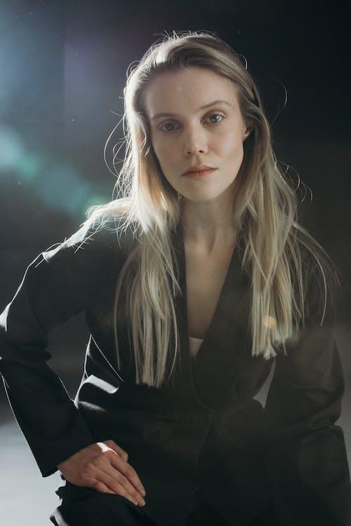 Photo Of Woman Wearing Black Blazer