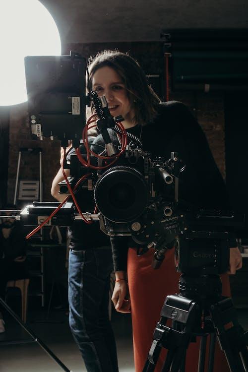 Woman Behind The Camera