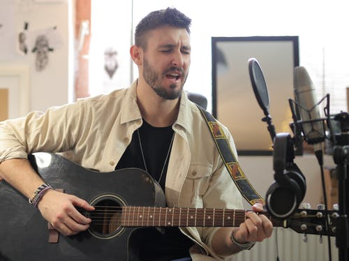 Základová fotografie zdarma na téma akustická kytara, akustický, hudba
