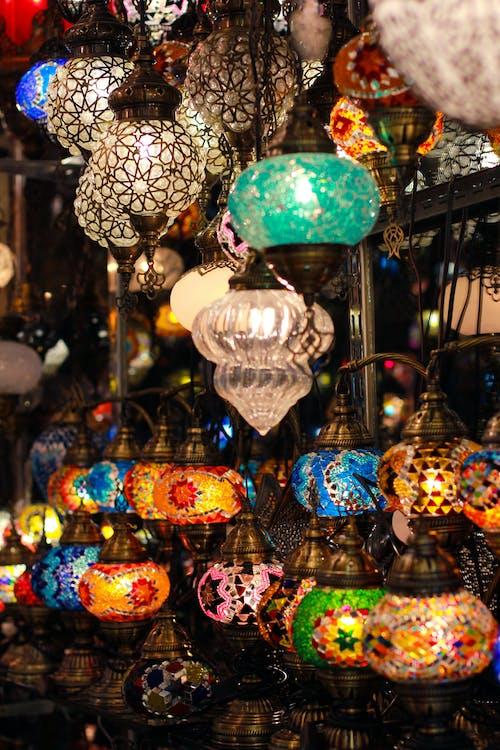Illuminated Pendant Lamps