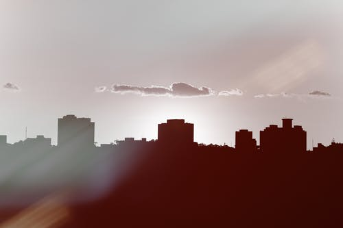 Foto profissional grátis de alvorecer, ao ar livre, arquitetura, arranha-céus