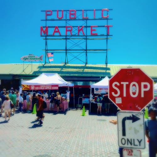 停, 市場, 西雅圖 的 免費圖庫相片