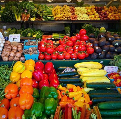 新鮮農產品, 農產品, 農貿市場 的 免費圖庫相片