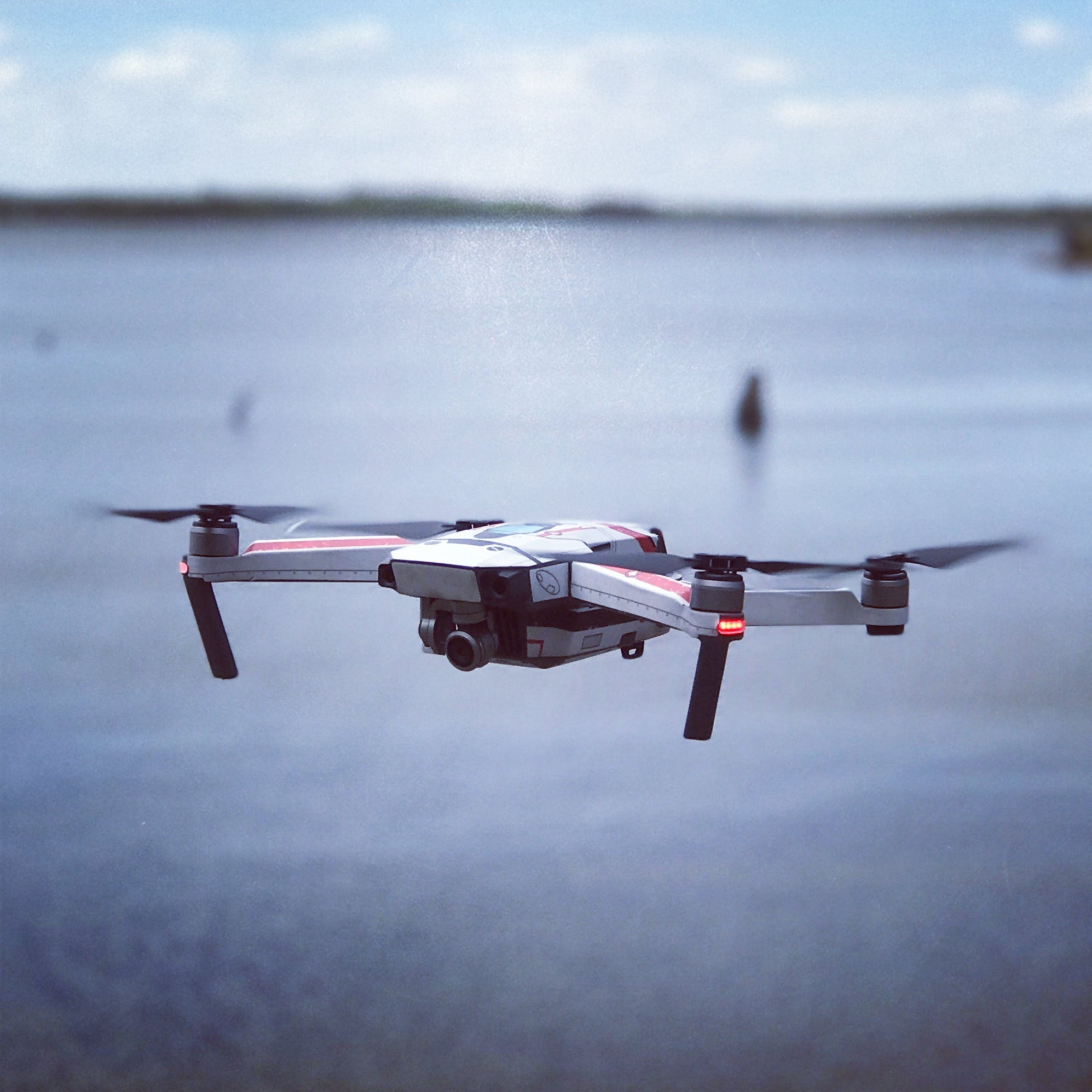 Selective Focus of Drone Camera
