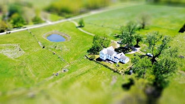 Free stock photo of farm, miniature, farmhouse