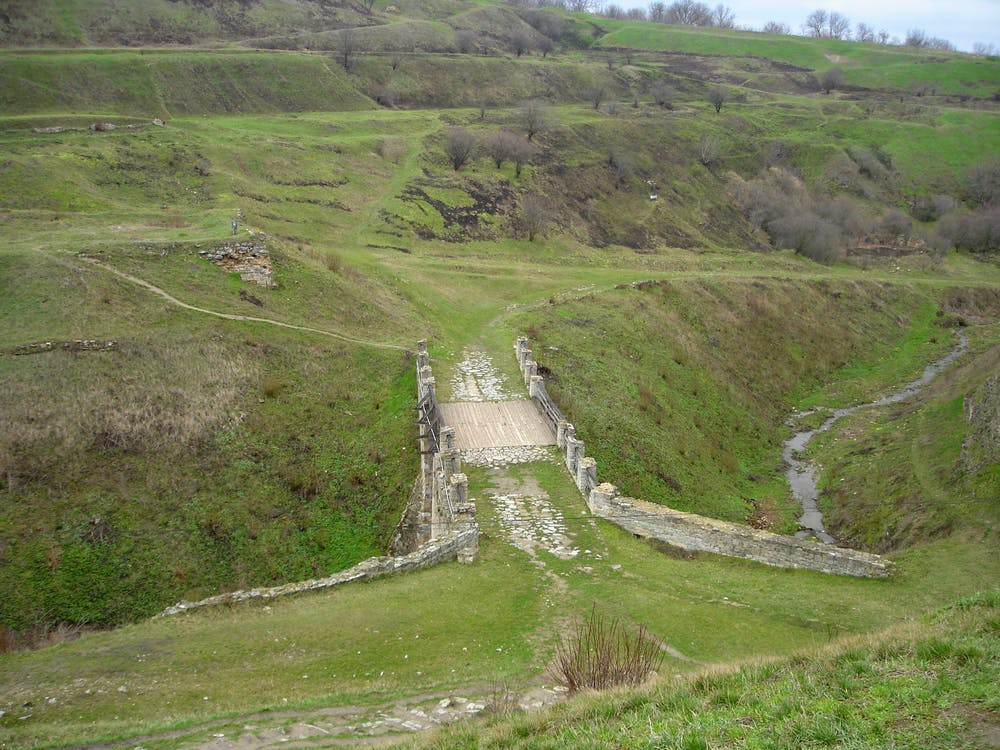 Free stock photo of bridge, grass, green