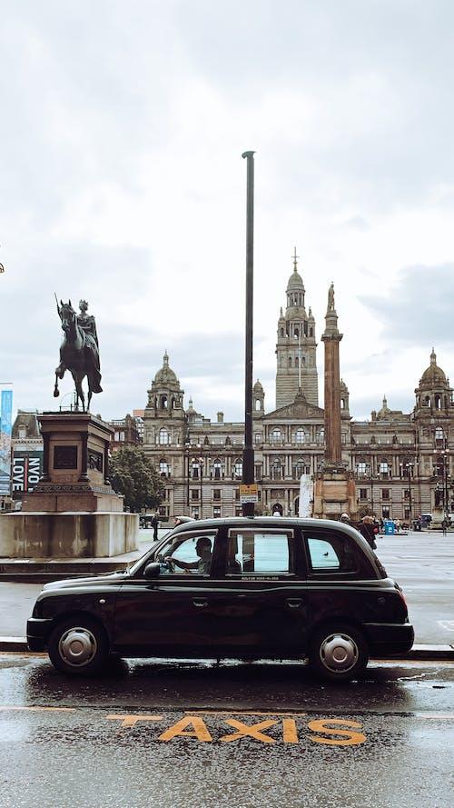 Free stock photo of glasgow, taxi